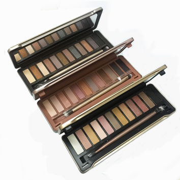 12 color new eyeshadow palette nakeds 2 3  eye shadow makeup for women