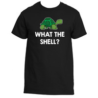 """""""What The Shell?"""" Turtle Lovers T-Shirt"""