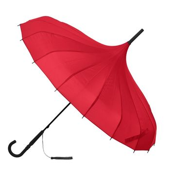 Classic Red Pagoda Umbrella