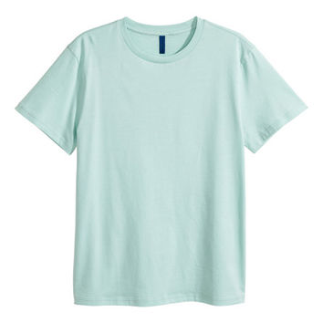 Crew-neck T-shirt - from H&M