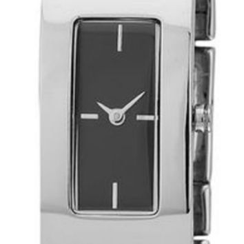 DKNY Brooklyn Black Dial Stainless Steel Bangle Women's Watch NY8851