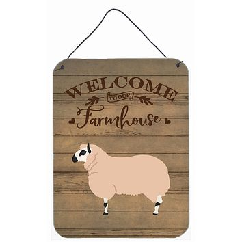 Kerry Hill Sheep Welcome Wall or Door Hanging Prints CK6923DS1216