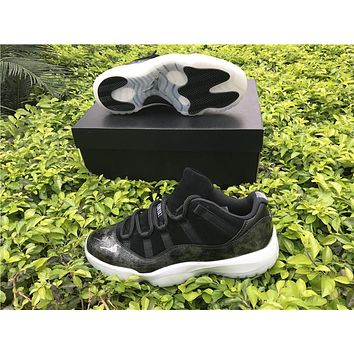 "AIR JORDAN 11 RETRO LOW (GS) ""Varsity Red"" ""Barons"""