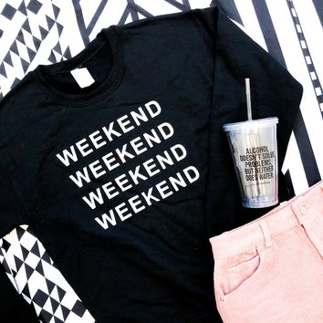 WEEKEND X4 SWEATSHIRT