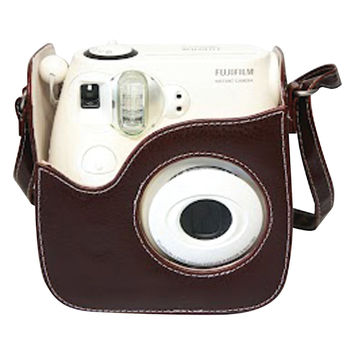 Fujifilm Instax Mini 8 Brown Leather Case