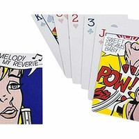 Roy Lichtenstein: Melody Playing Cards: Sports & Outdoors