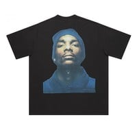Indie Designs Vetements Inspired Oversized Snoop Dogg Photo Print T-shirt