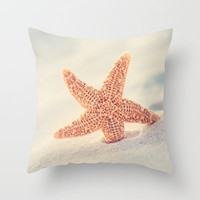 Hello Throw Pillow by Erin Johnson