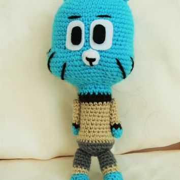 Amigurumi Amazing world of gumball, Crocheted Doll