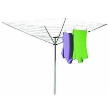 12-Line Outdoor Umbrella Style Laundry & Clothes Dryer