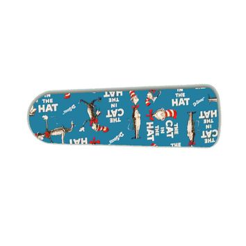 """Classic Blue Cat In The Hat 42"""" Ceiling Fan BLADES ONLY"""
