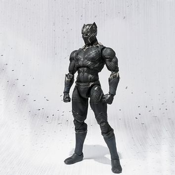 Black Panther - 10 inch Action Figure - Toys - Collectors Item -  Christmas Gift With Box