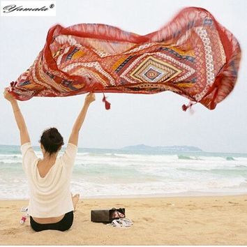 DCCKJG2 Yamala Indian Hippie Tapestry mandala Beach Yoga Mat  Bohemian wall tapestry  Colored Printed Decorative Shawls  Scarves