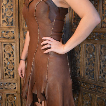 SavagePunk Deer Hide Dress