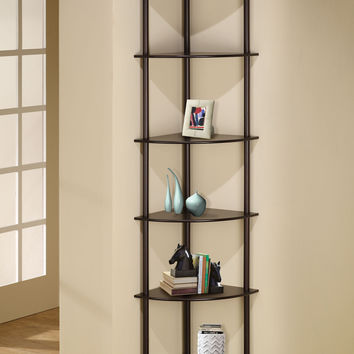 "Wildon Home ® 72"" Corner Bookcase"