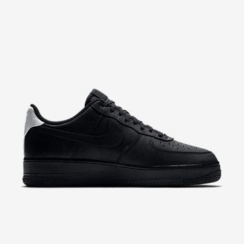 qiyif NIKE AIR FORCE 1 '07 PREMIUM - BLACK/BLACK/WHITE