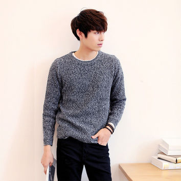 Mens Stylish Pullover Sweater