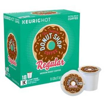 The Original Donut Shop Coffee Keurig K-Cup pods 18ct : Target