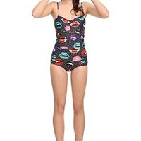 Too Fast Rose Lips Ari Swimsuit - 301209