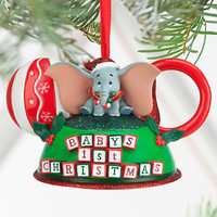 Dumbo - Baby's First Christmas Ear Hat Ornament