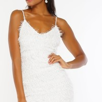 Icon Dress - White