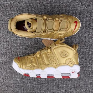 Nike Air More Uptempo 96 Gold Size 40-47 - Beauty Ticks