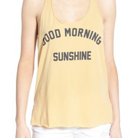 Project Social T 'Good Morning Sunshine' Graphic Tank | Nordstrom