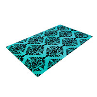"Pom Graphic Design ""Eye Symmetry Pattern"" Woven Area Rug"