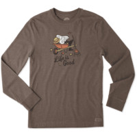 Men's Fall Guy Long Sleeve Crusher Tee