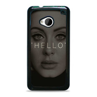Hello Adele Potrait Face Actress HTC One M7 Cases