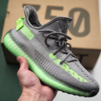 Kanye West x Adidas Yeezy Boost 350 V2 Causal Classic Running Sports Sneakers Shoes Gray Green