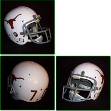 Texas Longhorns 1967-76 '1970 National Champs' Authentic Vintage Full Size Helmet
