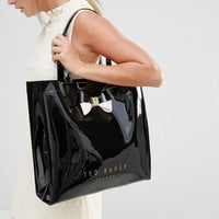 Ted Baker Large Icon Bag in Black