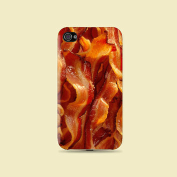 I'm Hungry Bacon Meat Plastic Hard Case - iphone 5 - iphone 4 - iphone 4s - Samsung S3 - Samsung S4 - Samsung Note 2