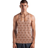 Red rabbit ram pattern Vest by Savousepate from €25.00   miPic