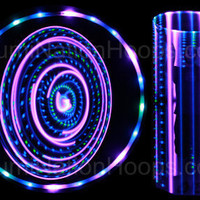 Purple People Eater 21 LED Lighted Hoop by IllumiNationHoops