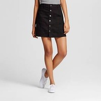 Women's Button Front Skirt - Mossimo Supply Co. (Juniors')