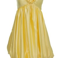Dressystar Junior Bridesmaid Dress Short Satin Evening Dress