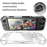 Anti-Scratch Protective Clear Hard Case Cover PC Shell for Nintendo Switch Joy-Con