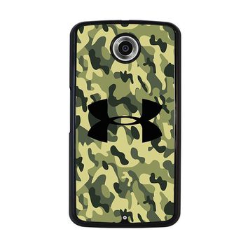 CAMO BAPE UNDER ARMOUR Nexus 6 Case Cover