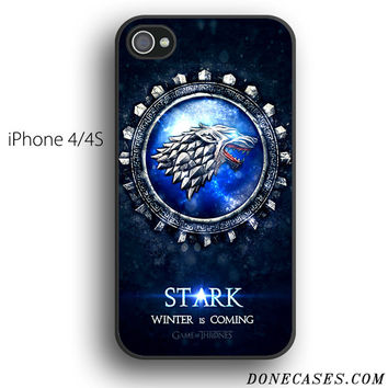 house stark game of thrones case for iPhone 4[S]