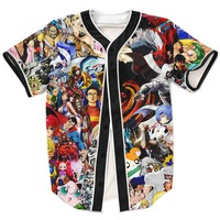 90s Cartoon Anime Jersey
