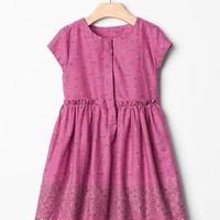 Gap Baby Floral Dobby Fit & Flare Dress