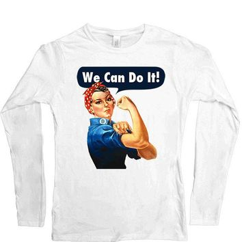 Rosie The Riveter -- Women's Long-Sleeve