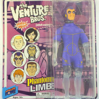"Bif Bang Pow! The Venture Bros. Series 5 - Phantom Limb 8"" Action Figure"