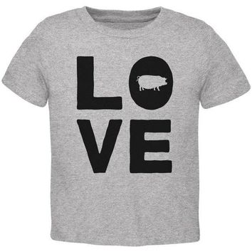 CREYCY8 Pig Love Toddler T Shirt