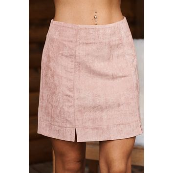 Good Distractions Skirt (Rose)