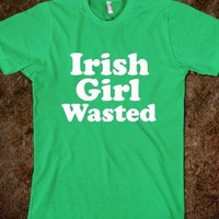 Irish girl wasted - Happy Friday