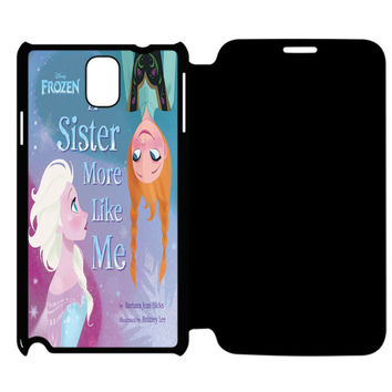 Frozen Olaf the Snowman Samsung Galaxy Note 4 Flip Case Cover