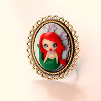 Ariel the Little Mermaid ring